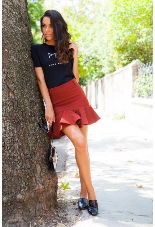 Mini Red Skirt