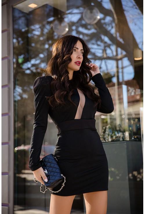 Φόρεμα Μαύρο Chrystal